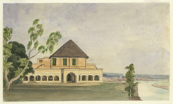 House of Gilbert Money, judge, Mirzapur (U.P.). 8 November 1868